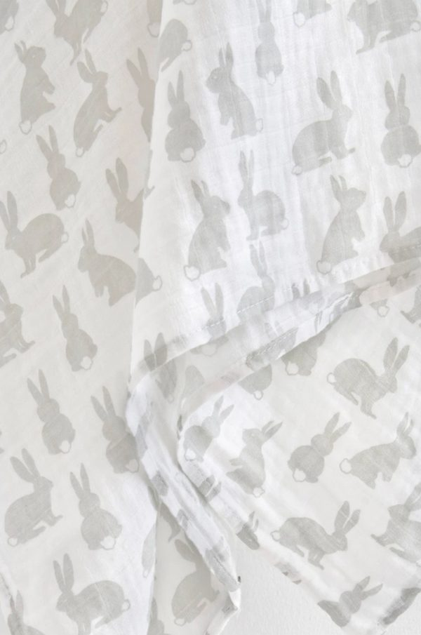 the little linen company bunny wrap   Sweet Arrivals baby hampers