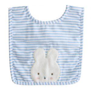 Alimrose bunny bib blue | Sweet Arrivals baby hampers