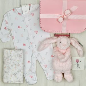 Sweet Arrivals Pink Bunny