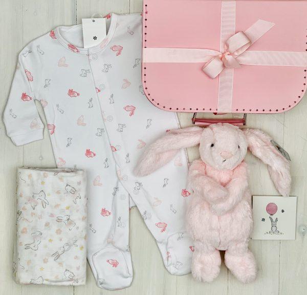 Sweet Arrivals Pink Bunny