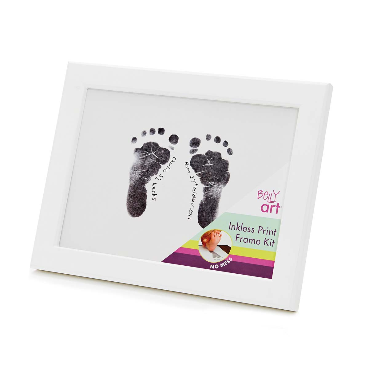 Baby Made Inkless Print Frame Kit | Sweet Arrivals Baby Hampers
