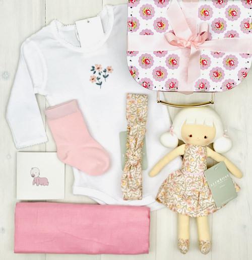 little miss Audrey | Sweet Arrivals baby hamper
