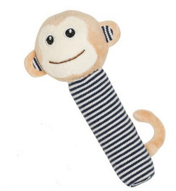 Emotion & Kids navy monkey rattle | Sweet Arrivals baby hampers