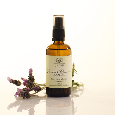 LHAMI Lavender & Chamomile Oil