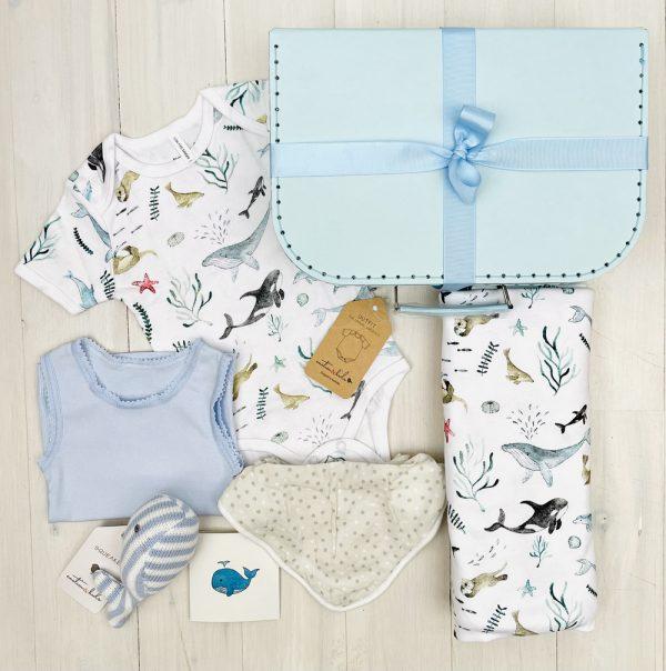 Whale Splash | Sweet Arrivals baby hampers