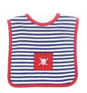 Alimrose pirate bib   Sweet Arrivals Baby Hampers