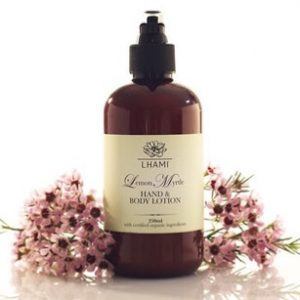 LHAMI Lemon Myrtle Hand & Body lotion