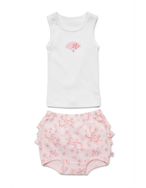 Marquise singlet and bloomer set | Sweet Arrivals baby hampers