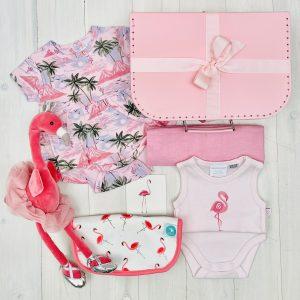 Pink Flamingo | Sweet Arrivals baby hampers