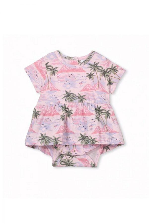 Milky island dress   Sweet Arrivals baby hampers