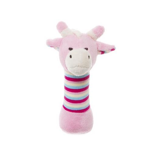 Pink Giraffe Rattle   Sweet Arrivals baby hampers