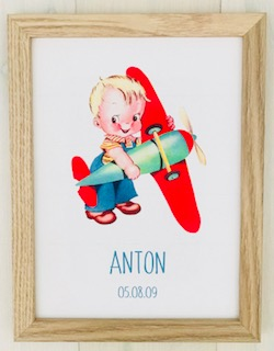 Boy Personalised Frame