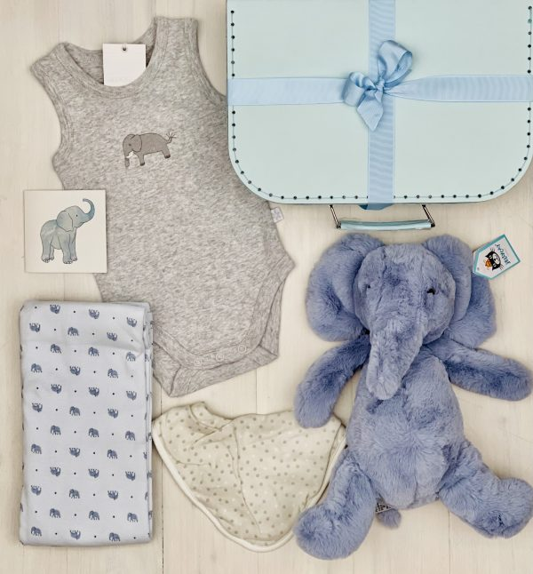 Puffles Elephant | Sweet Arrivals Baby Hampers