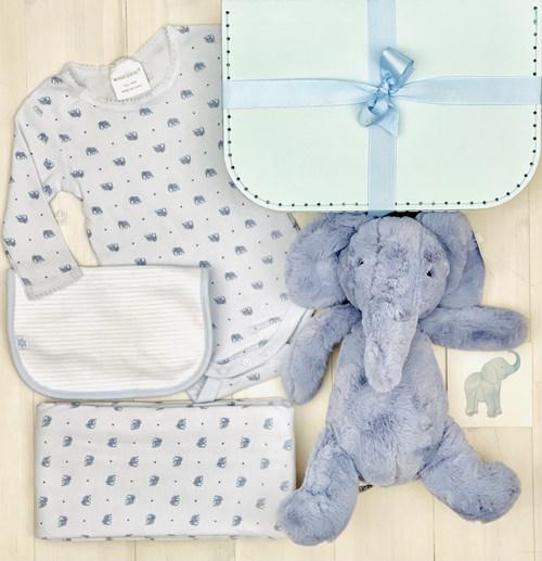 puffles elephant baby hamper | Sweet arrivals