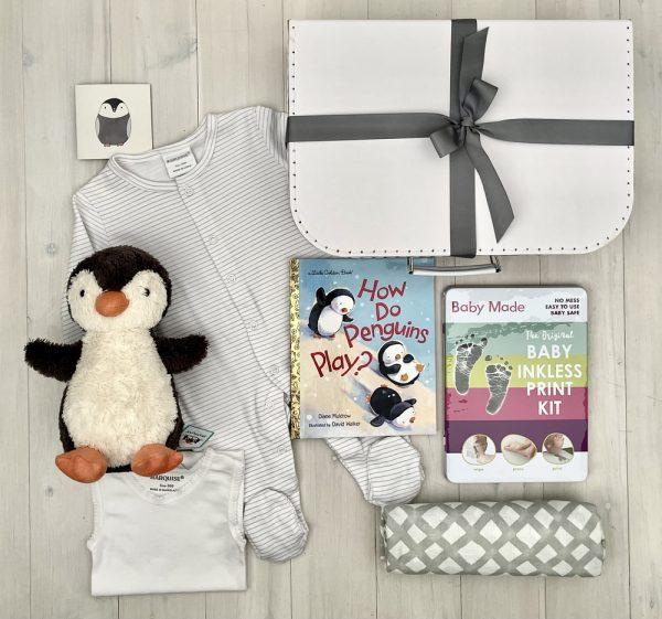 Penguin Peep | Sweet Arrivals baby hampers