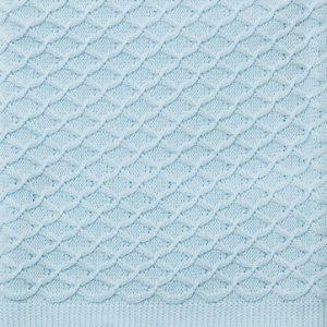 Emotion and Kids Lace Blue Bassinet Blanket