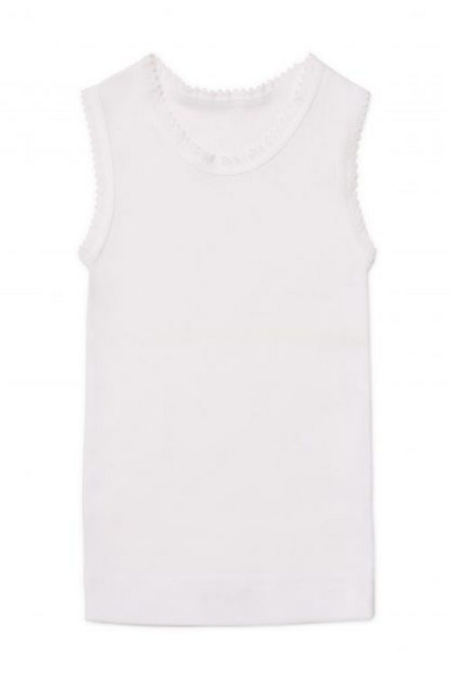 Marquise White Baby Singlet | Sweet Arrivals Baby Hampers