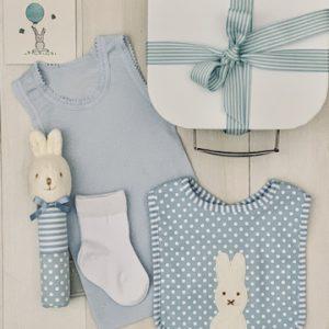 Little Cotton Tail Bunny-Blue