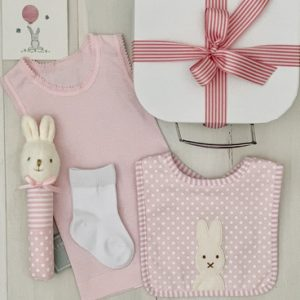 Little Cotton Tail Bunny-Pink - FREE SHIPPING