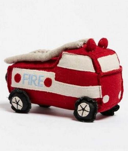 Soft Fire Truck Rattle Nana Huchy