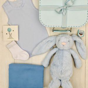 Bashful Bunny - Blue - FREE SHIPPING
