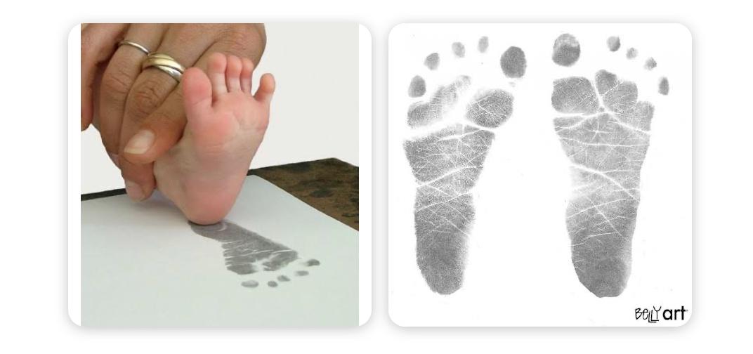 Baby Made Inkless Print Frame Kit
