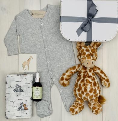 Giraffe Unisex Baby Hamper | Sweet Arrivals