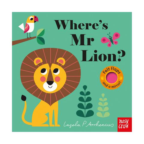 where's mr lion baby book