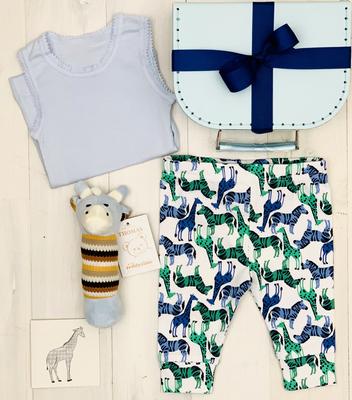 Short Giraffe - Blue - FREE SHIPPING