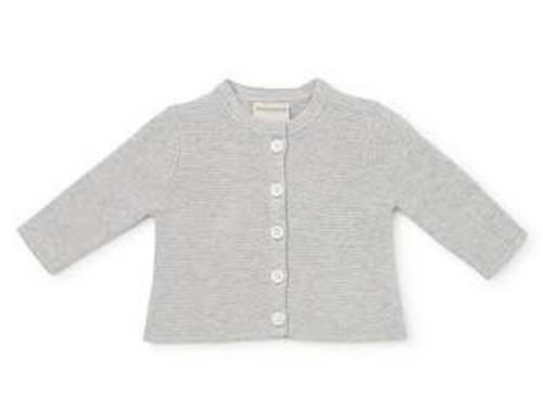 Marquise knitted grey cardigan | Sweet Arrivals Baby Hampers