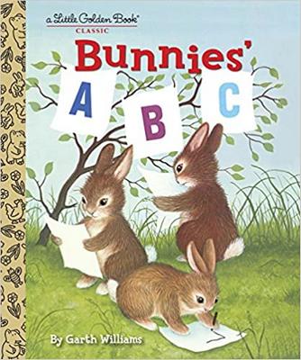 """A Little Golden Book; """"Bunnies ABC"""""""