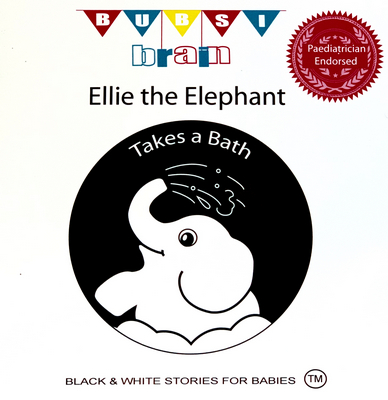 Ellie the Elephant Baby Book | Sweet Arrivals Baby Hampers