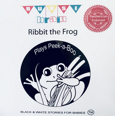 Ribbit the Frog - Baby Book | Sweet Arrivals Baby Hampers