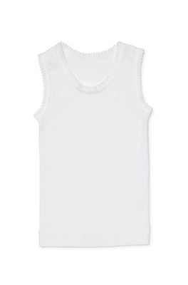 Marquise white singlet | Sweet Arrivals baby hampers