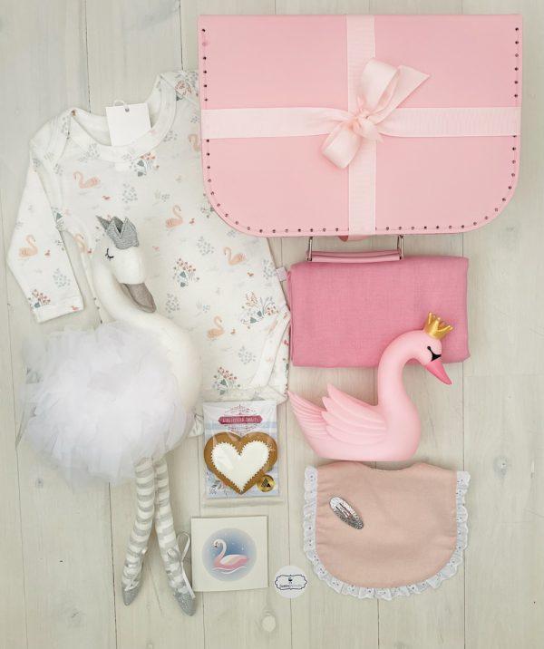 Silver swan | Sweet Arrivals baby hampers
