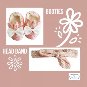 Booties and headband | Sweet Arrivals baby hampers