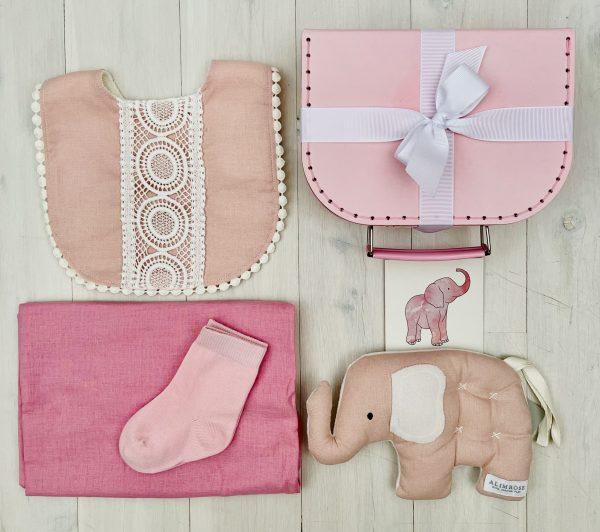 Comfort Pink | Sweet Arrivals baby hampers