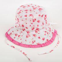 Big Sister Pink Flower Hat