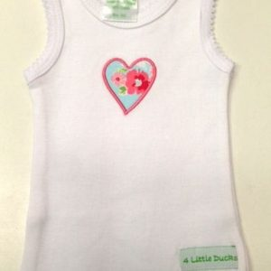 Big Sister Singlet from 4 Little Ducks