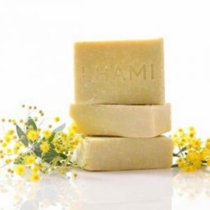 LHAMI Lemon Myrtle & Olive Oil Soap