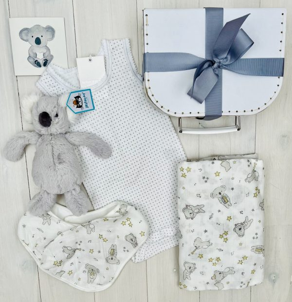 Grey Koala | Sweet Arrivals baby hampers