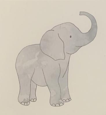 Baby Beats Plush Elephant - FREE SHIPPING