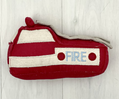 Fire truck rattle | Sweet Arrivals baby hampers