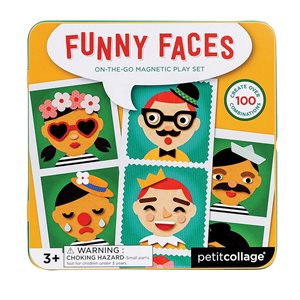 Funny faces play set