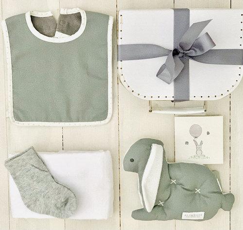 Comfort Bunny Grey | Sweet Arrivals Baby Hampers
