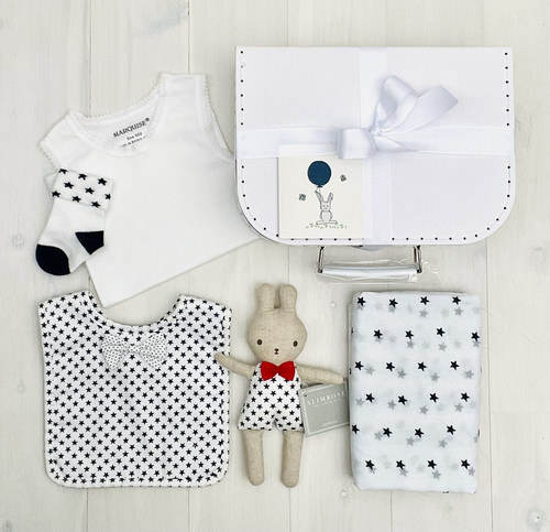 Little Star Bunny   Sweet Arrivals Baby Hampers