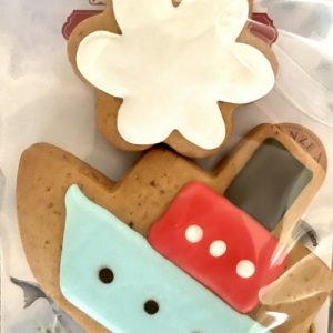 Adri's gingerbread boat and cloud | Sweet Arrivals Baby Hampers