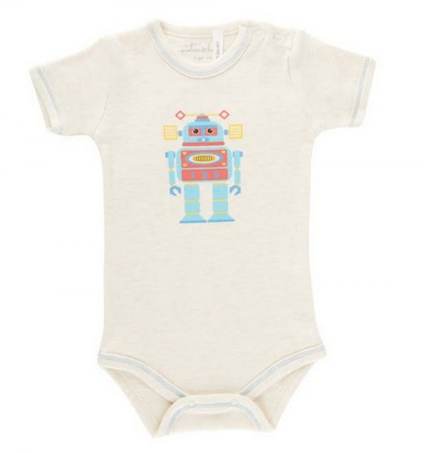 Emotion & Kids robot bodysuit   Sweet Arrivals baby hampers