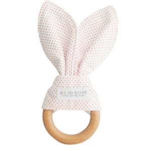 Alimrose Bunny Teether | Sweet Arrivals Baby Hampers
