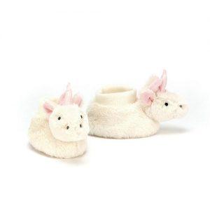 JellyCat unicorn booties | Sweet Arrivals baby hampers